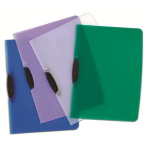 B3268 Bantex Swingclip File Assorted Colours