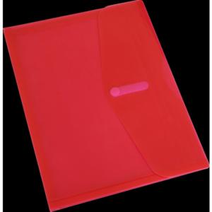 B3411 Bantex Envelope With Gusset Red