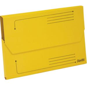 B3427 Bantex Document Wallet Yellow