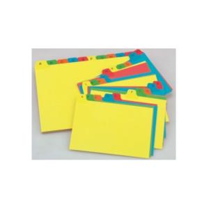 B6103 Bantex Index for Card File Box A5