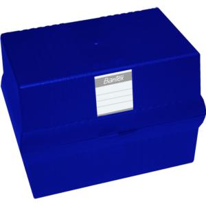 B9875 Bantex Card File Box A5 Blue