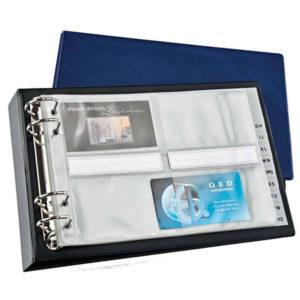 Bantex Ass A4 PVC 96 Card Cap. Bus Card Holders - Standard
