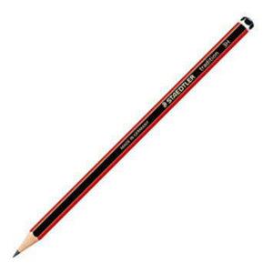 Staedtler 110-3H Tradition 3H Red/Blk Pencils