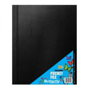 Butterfly Executive A4 50pg Pocket File