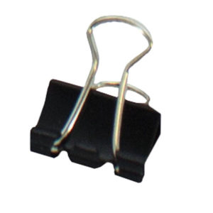 SDS 15mm Foldback Clips - Black