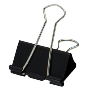 SDS 41mm Foldback Clips - Black