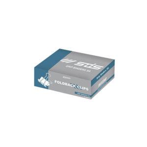 SDS 32mm Foldback Clips - Black2