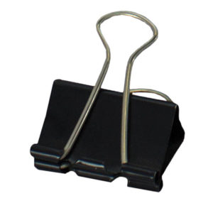 SDS 32mm Foldback Clips - Black