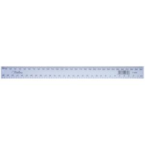 Treeline 30cm Rulers Clear
