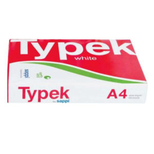 PAPER TYPEK 80GSM REAM OF 500 A4