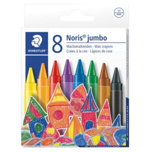 Staedtler Jumbo Wax Crayons - 8's
