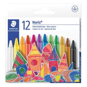 Staedtler Regular Wax Crayons - 12's